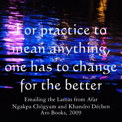 Talk by Ngak'chang Rinpoche